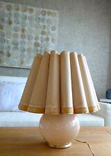 ART DÉCO BAUHAUS TISCHLAMPE KUGELLAMPE GLAS LAMPENSCHIRM TABLE LAMP 30er 40er