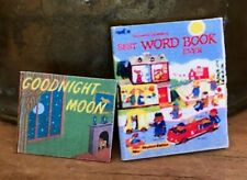 Dollhouse Miniature Artisan Set of Six Children's Books! Goodnight Moon & More!