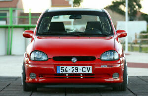 Front Bumper Lower Lip Chin  Spoiler For Opel Corsa B GSI