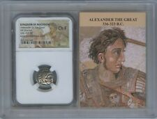 336-323 BC Alexander III Great Drachm NGC CH F Kingdom Macedon Story Vault