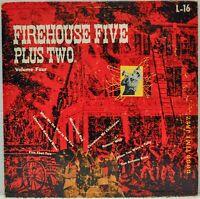 """Firehouse Five Plus Two Volume Four"" 10"" LP 1953 [Good Time Jazz L-16]"