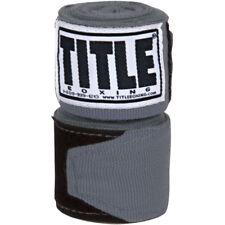 """Title Boxing 180"""" Semi Elastic Mexican Handwraps - Gray"""