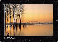 BT9114 Nijmegen hoogwater en zonsondergang     Netherlands