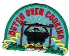 Girl Boy Cub DUTCH OVEN COOKING Campfire Fun Patches Crests Badges SCOUT GUIDE