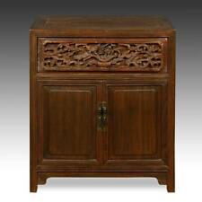 FINE ANTIQUE CHINESE SHANXI LACQUERED ELM WOOD CABINET FURNITURE EARLY 20TH C