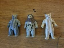 Vintage Ewok Lot Chirpa Teebo Logray Star Wars ROTJ Action Figures