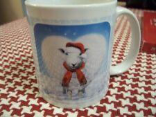 """Adorable Christmas Sheep """"Love Ewe !"""" Coffee Mug New !"""
