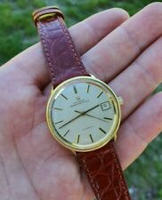 UNIVERSAL POLEROUTER GENEVE MICROROTOR CAL 1-69 GOLD 18 KT(0,750) RARE WATCH