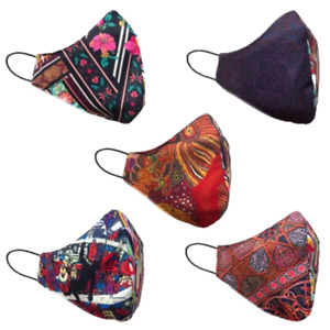 Fabric Face Coverings - Limited Edition, designed by Italian creative designer L