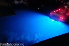 Made in USA 1000 LUMENS BLUE LED DRAIN PLUG LIGHT UNDERWATER Boat Fishing INSANE