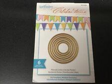 Spellbinders CELEBRA'TIONS NEW DIE Cutting/Embossing/Celebrations Pierced CircLe