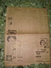 3 Old News Papers Cuttings of Advertisements of car's Batteries from India 1955