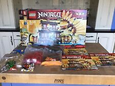 LEGO Ninjago Fire Temple 2507 100% Complete with Instructions +box Free P&P