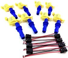 2004-2008 FORD F150 F-150 F-250 F250 IGNITION COIL PACKS & WIRE HARNESS CLIP SET