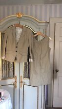 Banana Republic Dress And Blazer Matching Size 6 Tan