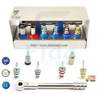 Hex Driver Kit Multi Universal Ratchet Wrench Dental Implant Kit