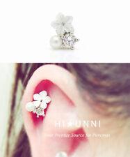 Sicherungsstift Broch Imitation Pearl Earrings Body Piercing Ohrringe