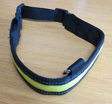 reflective and light up collar for a large dog