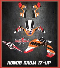 2017 Honda Grom & MSX125  SEMI CUSTOM GRAPHICS KIT REPSOL