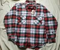 Vintage Woolrich Flannel Camp Shirt 70s Made In The USA SIZE XL