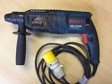 Used Bosch GBH2-26DRE 110v 2 Kilo SDS Plus Rotary Hammer Drill 3 Mode Chisler