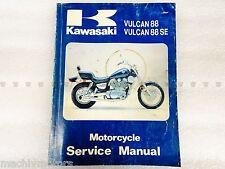 Kawasaki 99924-1078-01 Motorcycle Service Manual VN VN1500 Vulcan 88 1987