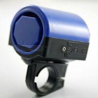 Fahrradhupe/Mini Fahrrad-Hupe 90dB blau Kunststoff