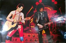 "Queen ""The Game Tour - Freddie & Brian Playing Guitar"" Poster, From Early 1980's"