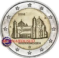 2 Euro Commémorative Allemagne 2014 - Eglise Saint-Michel de Hildelsheim