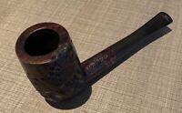 Vintage Estate Lord Abbott Semi Rustic Billiard Pipe-Very Nice Carving Work!