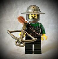 LEGO Castle Crossbow Soldier Minifigure - Mill Village Raid Set #7189