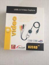 EzCAP 116 USB 2.0 Video Capture Device. Convert Video+Audio from VHS, V8, Hi8,