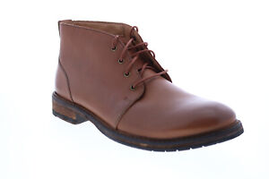Clarks Clarkdale Base 26145638 Mens Brown Leather Lace Up Chukkas Boots