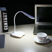 Flexible 3W USB Tactile Dimmable Lampe Lecture Bureau LED Chevet Veilleuse