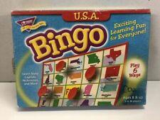 U.S.A. Bingo game Learn state capitals, nicknames. + more Homeschool