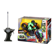 Maisto Tech RC Cyklone Motorbike Rechargeable Kids Remote Control Toy Green 5y