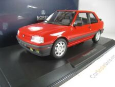 PEUGEOT 309 GTI Year 1987 VALLELUNGA Red 1 18 NOREV