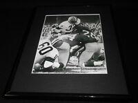 Jim Brown Framed 11x14 Photo Display Browns vs Giants