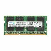 For Samsung 8GB (1X8GB) PC3L-12800 DDR3 1600MHz 204Pin SODIMM Laptop RAM RL1US