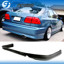 For 96 97 98 Honda Civic 2DR 4DR Urethane Rear Bumper Lip Spoiler Bodykit PU