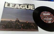 """Fuori nella terra desolata anti-Nowhere League 7"""" VINILE SINGOLO RECORD UK ABC 004 ABC"""