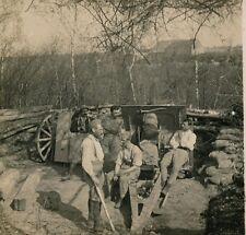 Stéréo Guerre WWI - Une Casemate d'une Pièce - 20