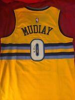 Emmanuel Mudiay Signed Autographed Denver Nuggets Jersey