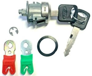 Ford Replacement Front Doors Key Lock Cylinder W/2 OEM Oval Logo Keys Left/Right