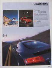 EVO 03/2007 featuring Prodrive Aston Martin, Alfa Romeo, TVR, Audi R8, Honda
