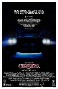 CHRISTINE (1983) ORIGINAL ADVANCE MOVIE POSTER  -  ROLLED