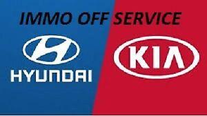 HYUNDAI KIA CONTINENTAL SIM2K-140/141/341 IMMOBILIZER DEFEAT IMMO OFF SERVICE