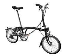 Brompton M6L 2019 Folding Bike BLACK FREE UK EU Shipping