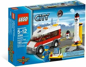 LEGO City Satellite Launch Pad 3366 (2011) Pre-Owned