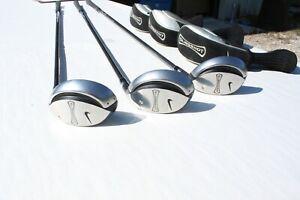 Nike Slingshot Hybrid Tour #1, #2, #3 15, 18, 21 Degree Right Hand Golf Clubs